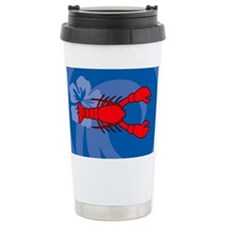 Lobster Ceramic Travel Mug