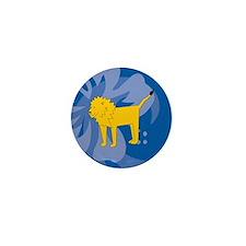 Lion Mini Button