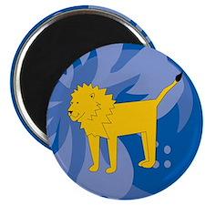 """Lion 2.25"""" Magnet (10 pack)"""