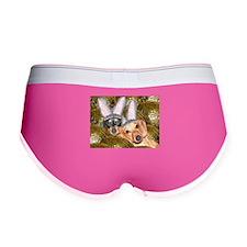 Easter Bunny Ears Dogs Women's Boy Brief