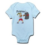 Female Boxer Infant Bodysuit