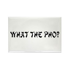 What The Pho? Rectangle Magnet (10 pack)