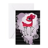 Red Hot Deerie - Greeting Cards (Pk of 20)