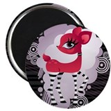 "Red Hot Deerie - 2.25"" Magnet (10 pack)"