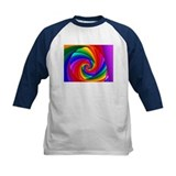 """Color 6"" Fractal Art Tee"