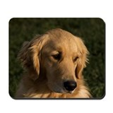 Golden Retriever Head Mousepad