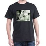 Ice Pigeons Black T-Shirt