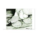 Ice Pigeons Mini Poster Print