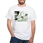 Ice Pigeons White T-Shirt