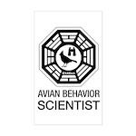 Dharma Birder Sticker (Rectangle)