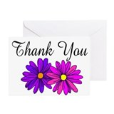 """Thank you"" Gerber Daisy Cards (Package"