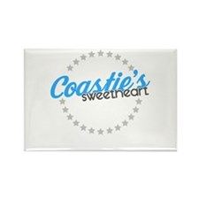 Coastie's Sweetheart Rectangle Magnet