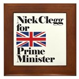 Cute Clegg Framed Tile