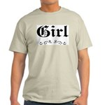 Girl Ash Grey T-Shirt