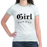 Girl Jr. Ringer T-Shirt