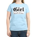 Girl Women's Pink T-Shirt