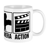 Lights, Camera, Action Small Mug