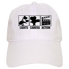 Lights, Camera, Action Baseball Cap