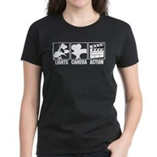 Lights, Camera, Action Tee
