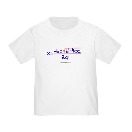 Quadratic Equation Toddler T-Shirt