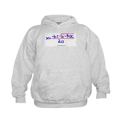 Quadratic Equation Kids Hoodie