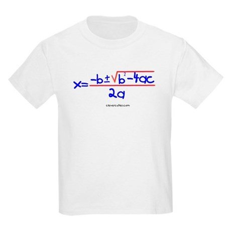 Quadratic Equation Kids T-Shirt