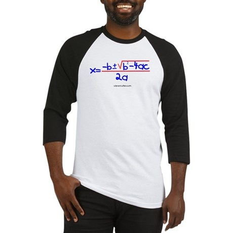 Quadratic Equation Baseball Jersey