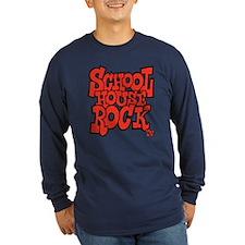 Schoolhouse Rock TV Long Sleeve Dark T-Shirt