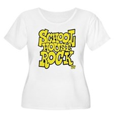 Schoolhouse Rock TV Women's Plus Size Scoop Neck T
