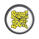 Schoolhouse Rock TV Wall Clock