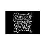 Schoolhouse Rock TV Rectangle Magnet