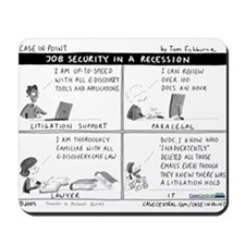 4/6/2009 - Job Security Mousepad