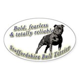 Bold and fearless Decal