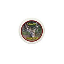 """Buck Hunter"" Mini Button"