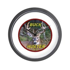 """Buck Hunter"" Wall Clock"