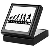 Evolution of Football Keepsake Box