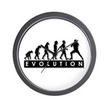 Evolution of Football Wall Clock