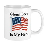 Glenn Beck is my Hero Small Mugs