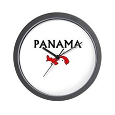 Unique Panama Wall Clock