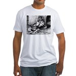 Splash English Trumpeter Fitted T-Shirt