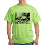 Splash English Trumpeter Green T-Shirt