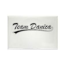 Cute Danica Rectangle Magnet