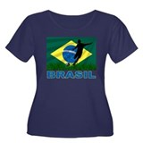 Brazilian World cup soccer Women's Plus Size Scoop