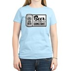 Beer Is My Constant Women's Light T-Shirt