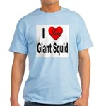 I Love Giant Squid Light T-Shirt