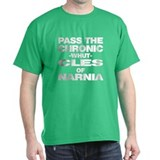 Pass the Chronic-WHUT-cles of Black T-Shirt