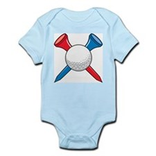 Golf Ball and Tees Infant Creeper