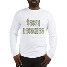 Irish Princess w/Crown 2 Long Sleeve T-Shirt