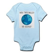 My World is Golf Infant Creeper