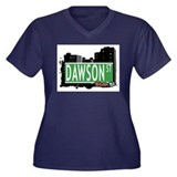 Dawson St, Bronx, NYC Women's Plus Size V-Neck Dar